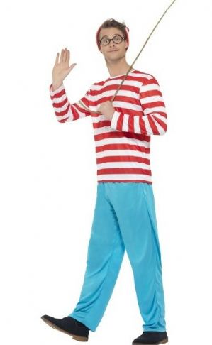 Where's Wally costume  (3296)